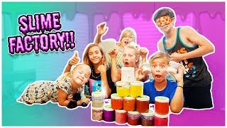 SLIME FACTORY PART 2!!