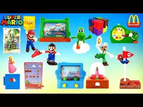 2018 Mcdonalds Super Mario Odyssey Happy Meal Toys