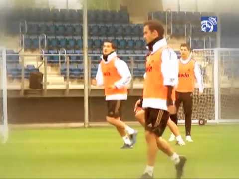 Hoy entrenamos con...Sami Khedira
