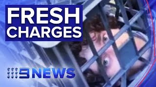 Sydney stabbing accused faces new charges | Nine News Australia