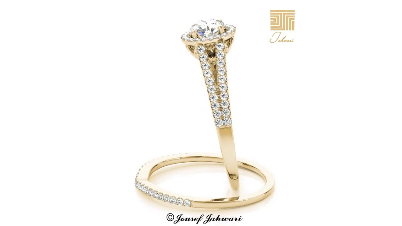 2a3483362 توينز الماس اجمل خواتم الماس للخطوبه باسعار مناسبة - YouTube