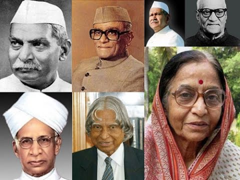 List of Presidents of India updated 2015