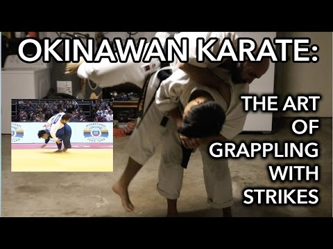 Okinawan Karate: The Art of Grappling with Strikes