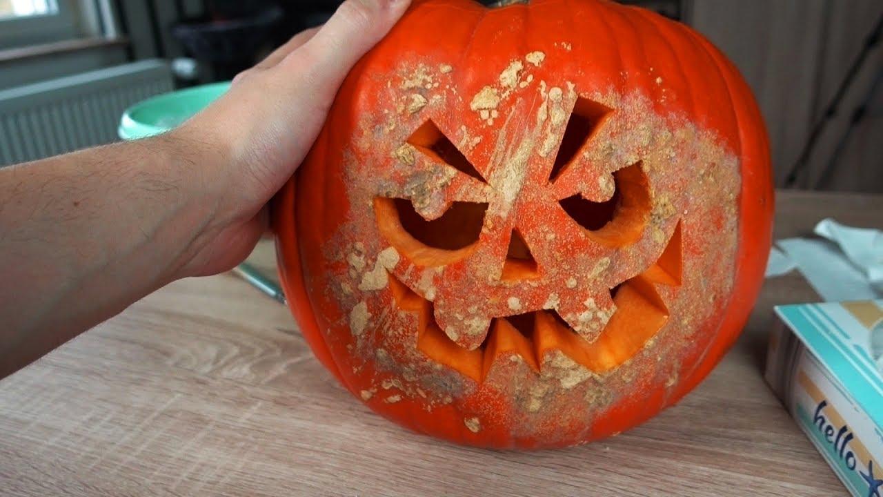 mein erster selbst geschnitzter halloween kürbis 🤓  vlog