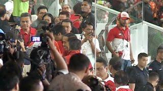 Video Gunakan Jaket Timnas RI, Jokowi Nonton Piala Presiden download MP3, 3GP, MP4, WEBM, AVI, FLV Maret 2018