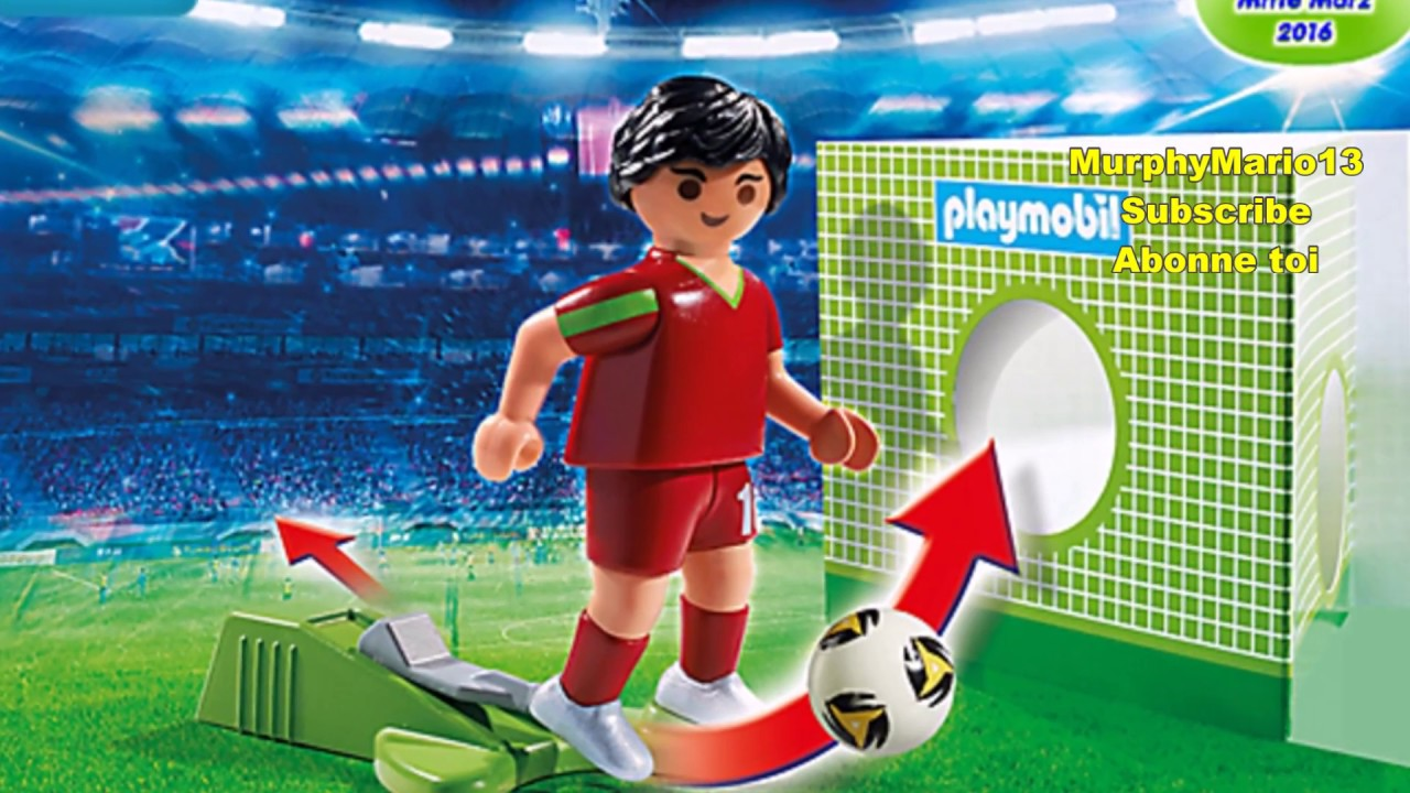 playmobil football fußball soccer  youtube