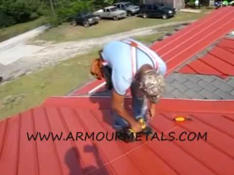 How To Measure And Install Multi Rib Or Armour Rib Metal Roofing Part