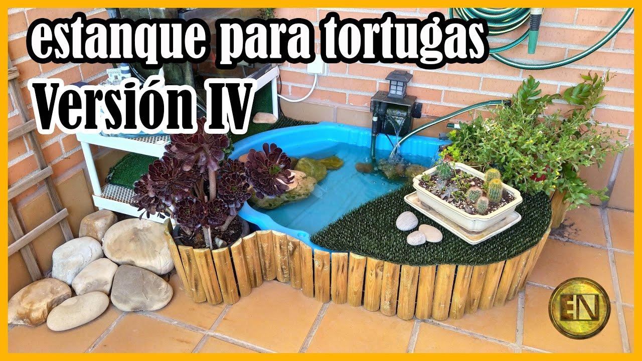 Estanque Para Tortugas Casero Youtube