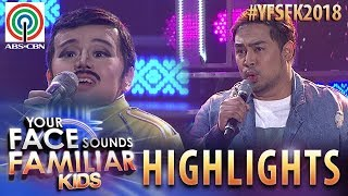 YFSF Kids 2018 Highlights: Jed and Esang amaze all with their Sun and Moon duet