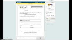 Snap financial Office Instructions
