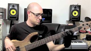 Walking Bass lesson - Static Minor Chords (SO WHAT) with Scott Devine (L#27)