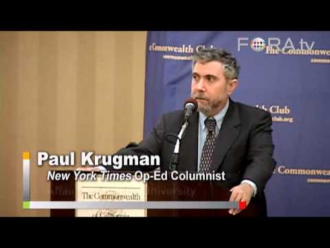 Paul Krugman - Income Inequality and the Middle Class