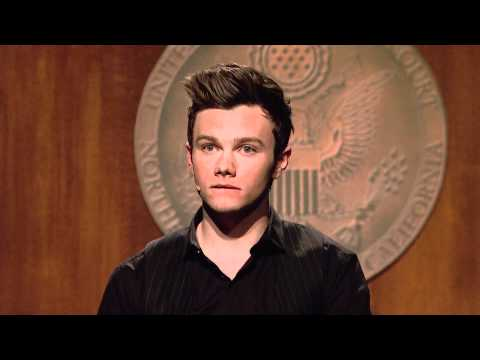 "Chris Colfer in ""8,"" a Play about Marriage Equality and Prop. 8"