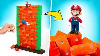 DIY Permainan Super Mario DALAM KEHIDUPAN NYATA