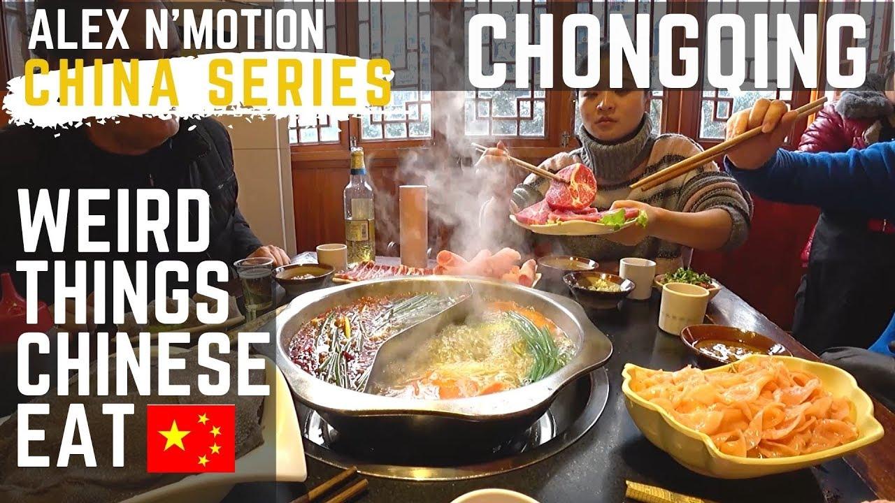 Download Weird Things Chinese Eat : HOTPOT In Chongqing