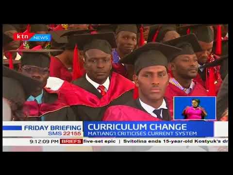 Education CS Fred Matiang'i faults current university education in Kenya