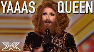 FIERCE, FABULOUS and FUNNY Drag Acts on The X Factor | X Factor Global