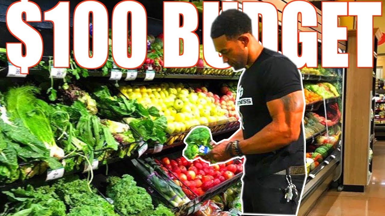 HOW TO LOSE WEIGHT ON A 100$ FOOD BUDGET W/ SAMPLE MEAL PLAN