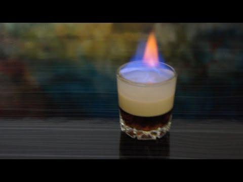 Как делать коктейль Б-52