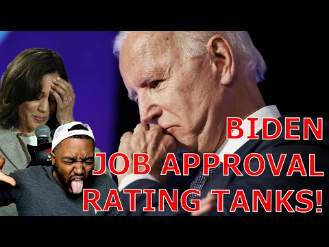Joe Biden's Job Approval Rating TANKS Below 50% As His Administration Continues To IMPLODE!  