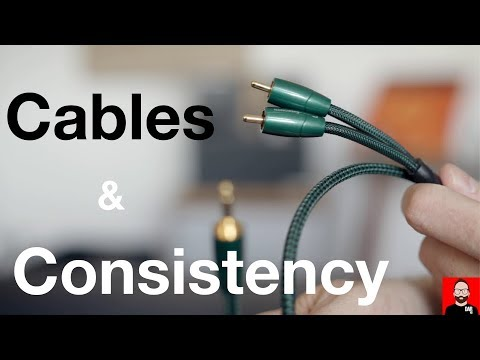 Room tour: AudioQuest cables for consistency