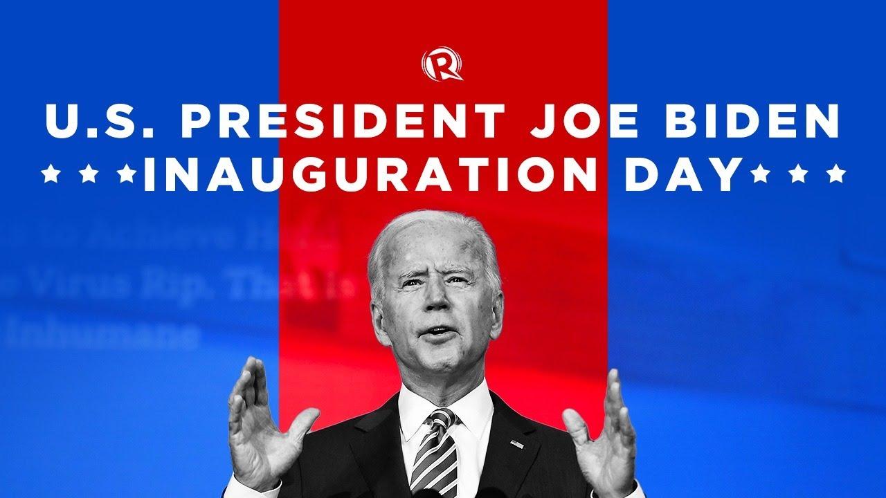 Inauguration of Joe Biden as US president - Rappler