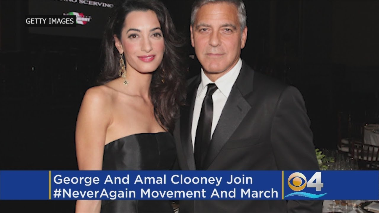 George Clooney to Parkland Students Standing Up for Gun Safety: 'You Make Me Proud of My Country Again'