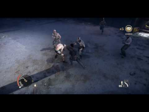 Mad Max Game: Odd Way of Getting in Camp and Killing Gutnoose  