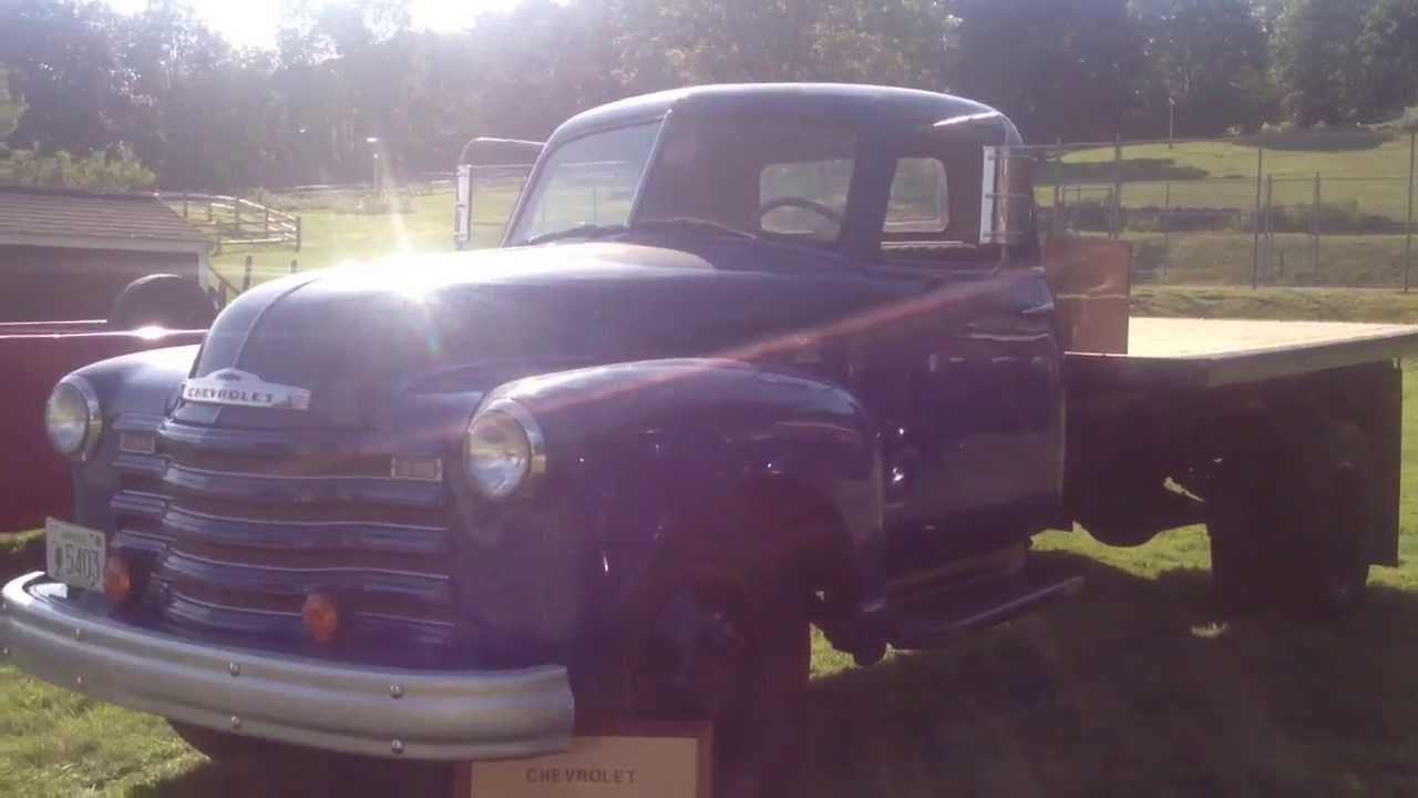 78 Chevy Truck >> 1950 Antique Old 4400 Chevy Chevrolet Dump Flat Bed Truck ...