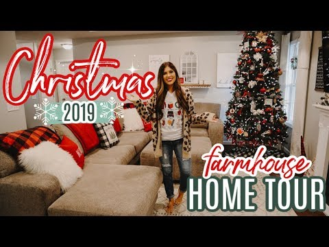 CHRISTMAS HOME TOUR 2019 | ENTIRE HOUSE OF CHRISTMAS DECOR | FARMHOUSE CHRISTMAS HOME TOUR