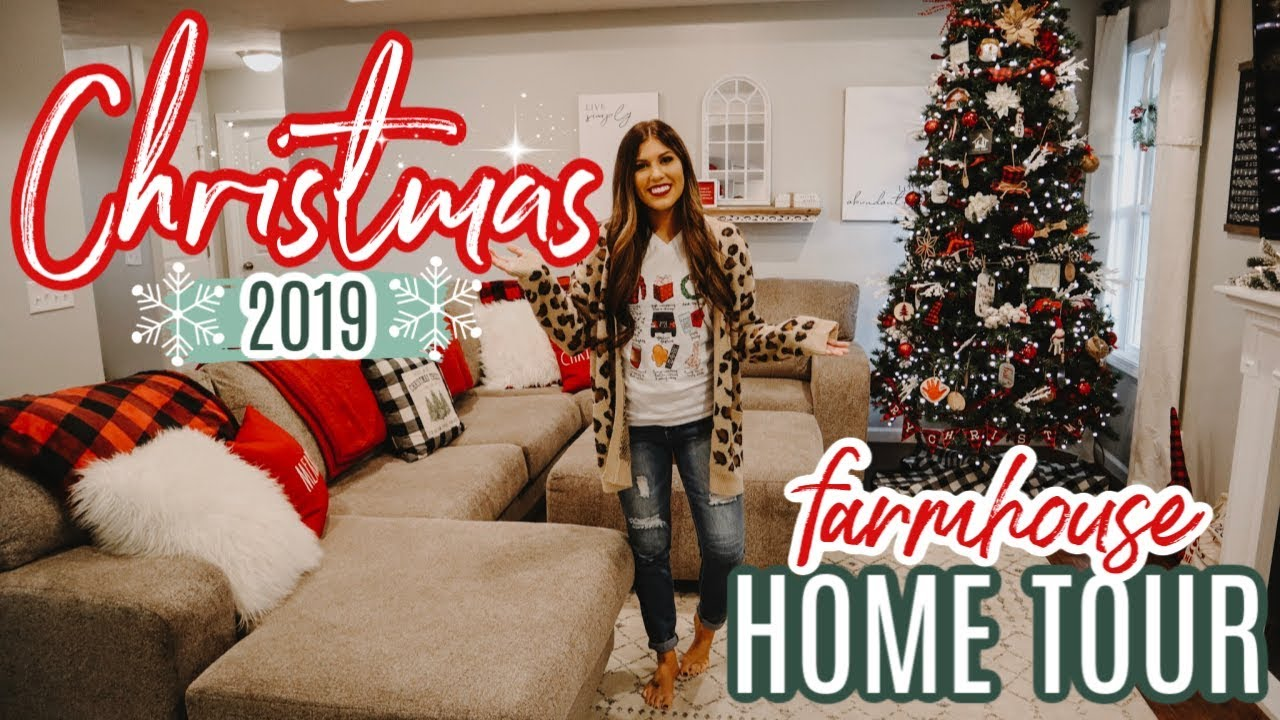Christmas Home Tour 2019 Entire House Of Christmas Decor