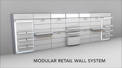 Retail Store Fixture - Modular Retail Wall System