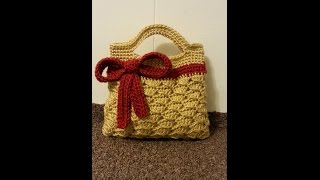 CROCHET How to #Crochet Handbag crochet ribbon Purse #Tutorial #179