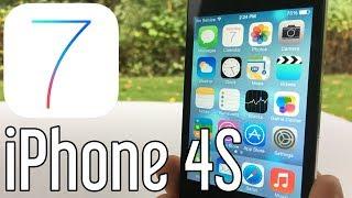 iPhone 4S running iOS 7 in 2017 iOS 704