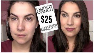 UNDER $25 Full Face Fall Makeup Look!