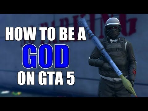 HOW TO BE A GOD ON GTA 5 Online (Best Tricks)