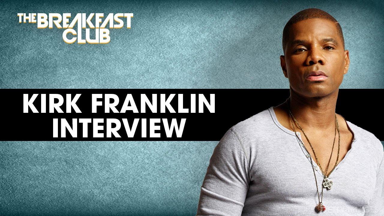 Kirk Franklin Talks ****lture and Faith, 'Good Words' Podcast + More