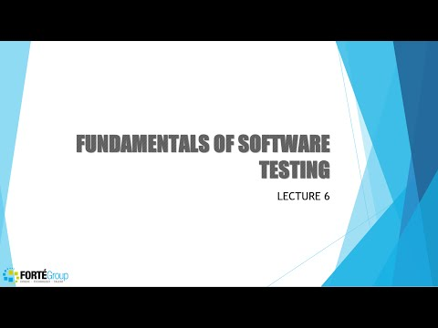Fundamentals of Software Testing Lecture6