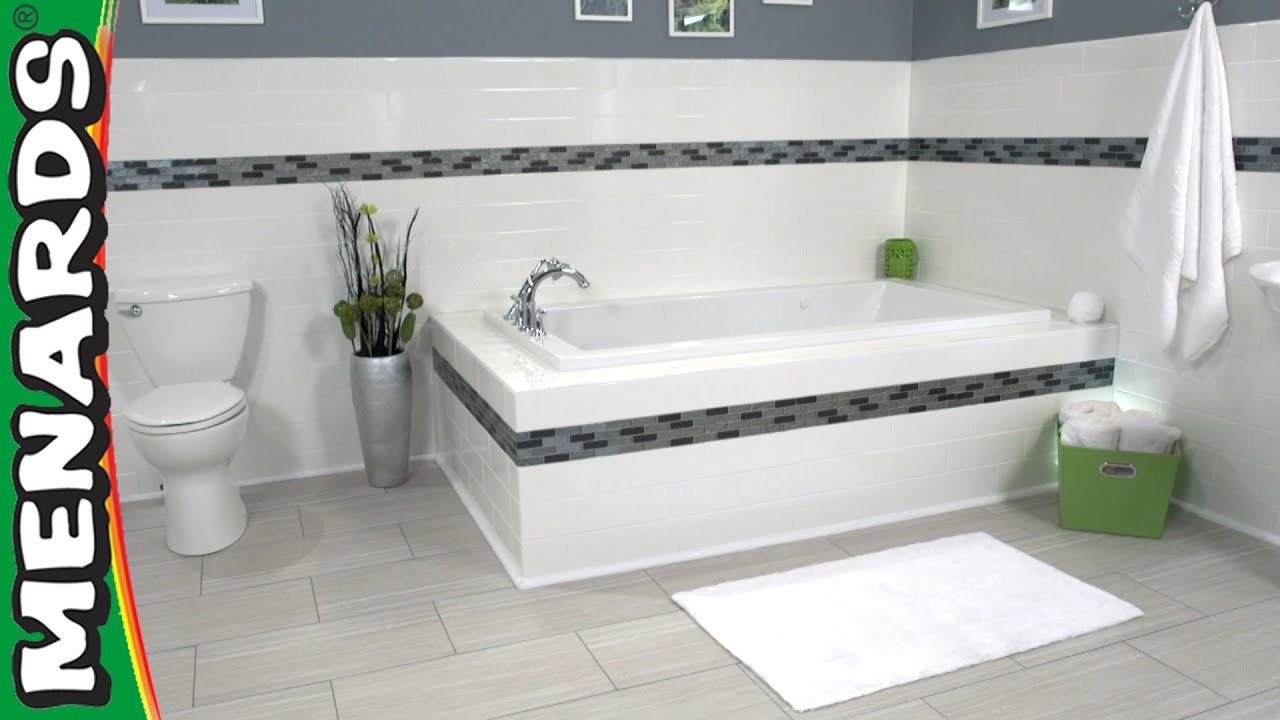 install wall tile how to menards