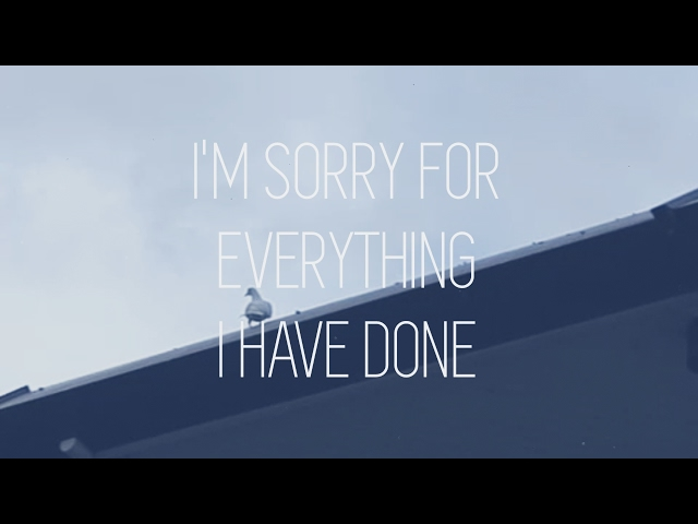 I'm Sorry For Everything I Have Done
