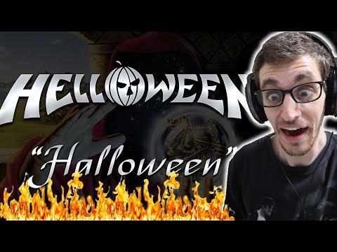 """Hip-Hop Head's FIRST TIME Hearing HELLOWEEN: """"Halloween"""" REACTION"""
