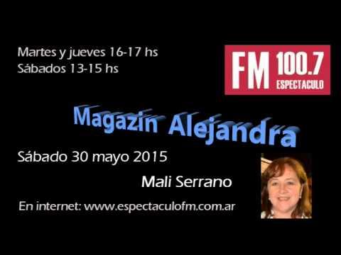 Mali Serrano en Magazin Alejandra