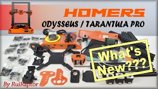 HOMERS Odysseus / TEVO Tarantula Pro - Unboxing & First Thoughts