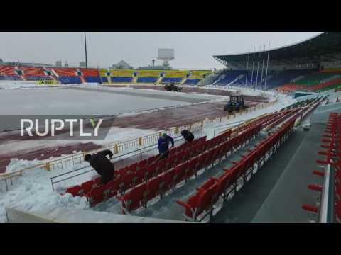 Russia: See Kazan in all its snow-dusted beauty as city gears up for World Cup 2018