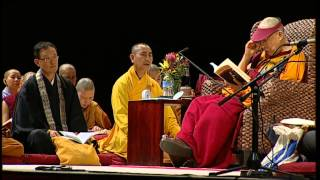 The 14th Dalai Lama of Tibet Sydney Teaching June 2013 Jewel Lamp The Praise of Bodhicitta Session 4