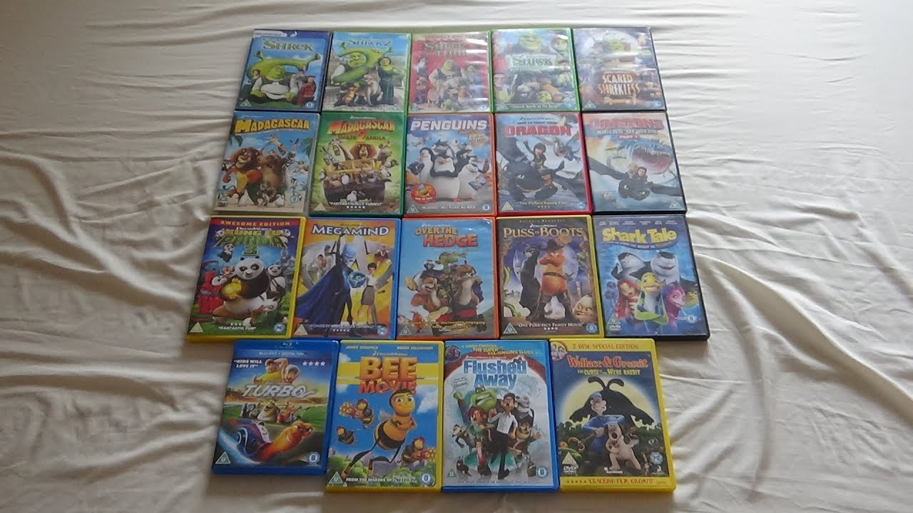 Buy Reliance Big Home Videos Dreamworks Animation Limited ...  |Dreamworks Disney Dvd Collection