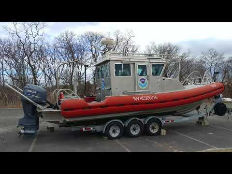NOAA NATIONAL OCEANIC ATMOSPHERIC ADMINISTRATION RV RESOLUTE @ SANDY HOOK FORT HANCOCK ARMY BASE