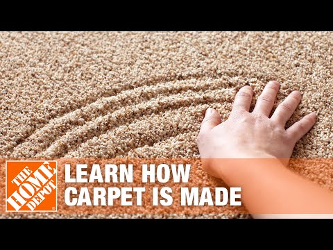 How Carpet is Made - The Home Depot - YouTube