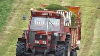 Repeat youtube video Fiat 110 90 turbo and krone wagon at silage