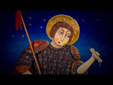 Про Василия Блаженного и Егорий Храбрый  - Гора самоцветов | Сказки для детей - Видео онлайн
